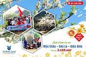 Tour Tây Bắc - Sơn La - Điện Biên - Mộc Châu Tết Âm Lịch 2017