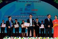 Giải thưởng du lịch Việt Nam 2018, Vietsense được trao tặng