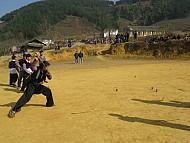 Trò Đánh Quay Ngày Tết Của Người Mông