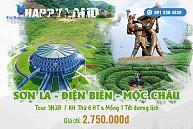 Tour Hà Nội - Sơn La - Điện Biên Khởi Hành Tết Dương Lịch 31/12/2016