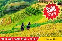 TOUR MÙ CANG CHẢI - TÚ LỆ - SUỐI GIÀNG - 3 Ngày 2 Đêm