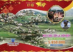 TOUR DU XUÂN TÂY BẮC TẾT ÂM LỊCH: Sơn La – Điện Biên – Mộc Châu – Sa Pa - 5 Ngày 4 Đêm