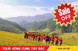 TOUR VÒNG CUNG TÂY BẮC: Sơn La - Điên Biên - Sapa - Mù Cang Chải 5N4Đ