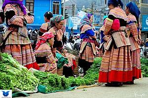 Bức tranh cuộc sống muôn màu sắc nơi các Phiên chợ vùng cao.