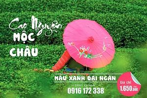 Tour Hà Nội - Cao Nguyên Mộc Châu đang giảm giá 2 Ngày 1 Đêm