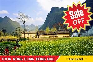 TOUR VÒNG CUNG ĐÔNG BẮC: Hà Giang - Đồng Văn - Cao Bằng - Bắc Kạn - 5N4Đ