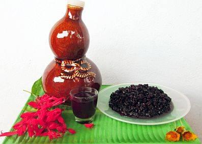 Đặc Sản Rượu Nếp Than Lai Châu,Dac San Ruou Nep Than Lai Chau